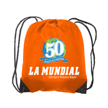 drawstring backpack bag custom printing