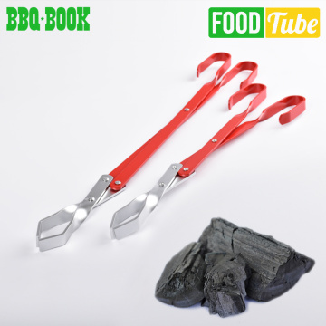 Stainless Steel Barbecue Carbon Tongs