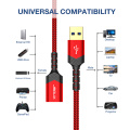 Jsaux USB 3.0 Extension Cable Male to Female USB Data Sync Transfer Extender Cable for PC Smart TV PS4 Xbox One SSD Hard Drive