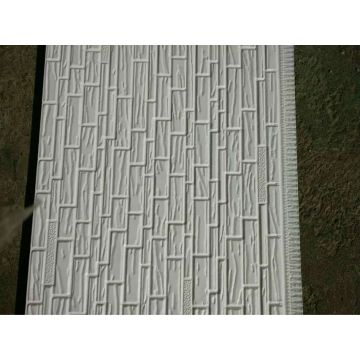Waterproof pu foam metal decorative external wall siding