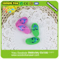 Slippers shaped eraser gift for girl