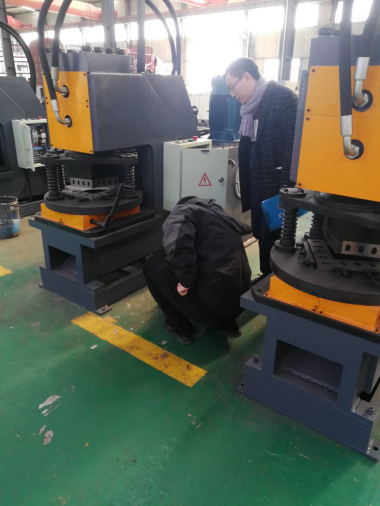 Jinan Sunshine Hydraulic Angle Notching Machine