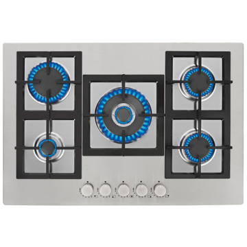 Gas Stainless Hob Stove 90 CM