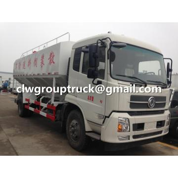Dongfeng Tianjin Bulk Feed Delivery Tanker Truck
