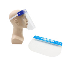 Plastic PET anti-fog medical clear face shield