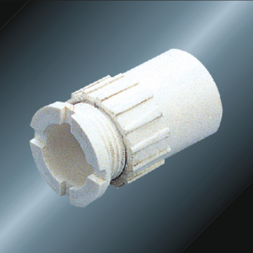 Conduit Upvc Screwed Converters White Color