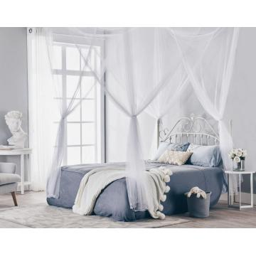 Girls Hanging Bed Canopies Four Corner Mosquito Nets