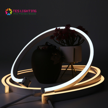 outdoor track for neon led strip lighting