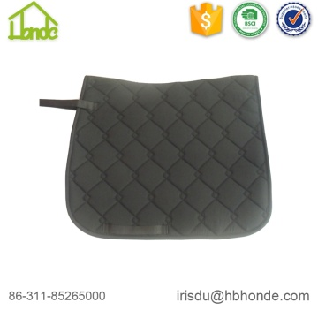 Polyester Filling Polycotton Lining Horse Riding Saddle Pad