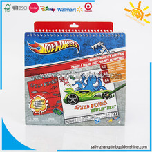 Hot Wheels Sketch Portfolio Notebook