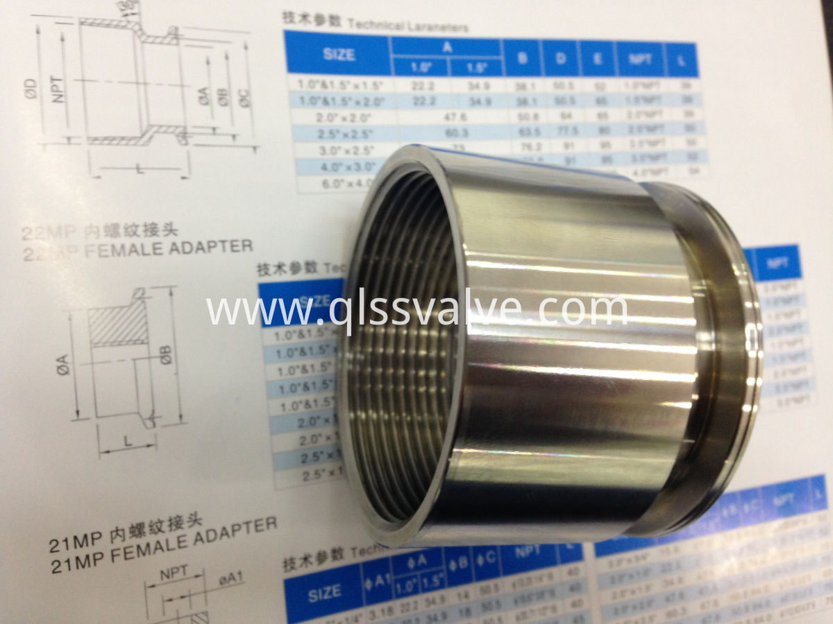male hose ferrule