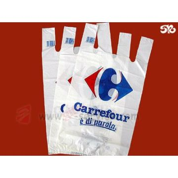 Food grade HDPE plastic bags&food packaging plastic