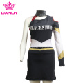 Unique long sleeve cheerleader uniforms