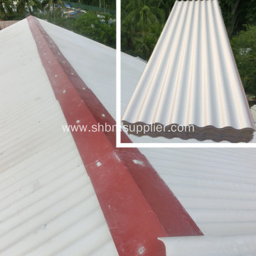 Corrugated Fire-proof Glazed MgO Roofing Sheets