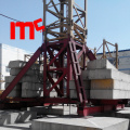 Chassis type tower crane