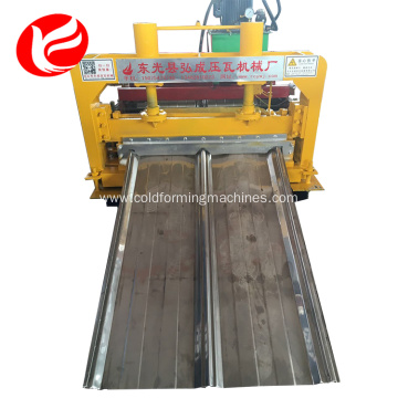 Low price joint hidden roll forming machine