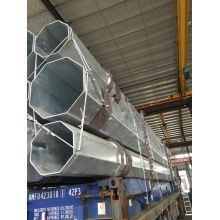 69kv galvanized steel utility pole price