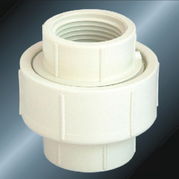 BS4346 Water Supply Upvc Female Thread Union White
