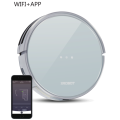 Gyro navigation robot vacuum cleaner
