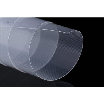 Flexible polypropylene transparent twilled pp