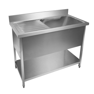 Commercial Stainless Steel Washing Table