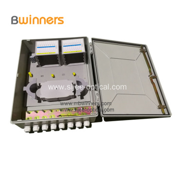 64 Cores Fiber Optic Termination Distribution Splice Box