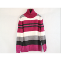 Wholesale High Neck Cotton Comfortable Sweater