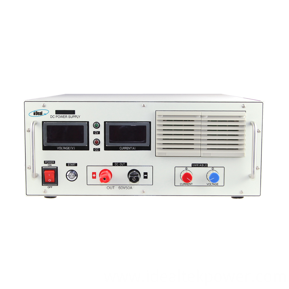 Smp5000 Benchtop Dc Power Supply Front Panel