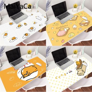 MaiYaCa Japan Anime Egg Rubber Pad to Mouse Game Anti-slip Rubber Gaming Mouse Mat xl xxl 800x300mm for Lol world of warcraft