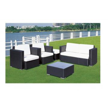 PE Rattan Leisure Wicker Furniture Sofa Set
