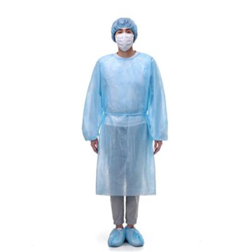 Cheap Fluid Resisitant Disposable Isolation Gown