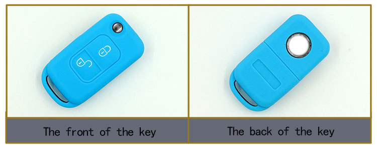 Benz car key protective cover