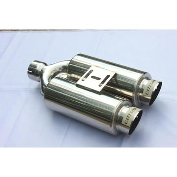 "4"" Double Muffler With Tips"