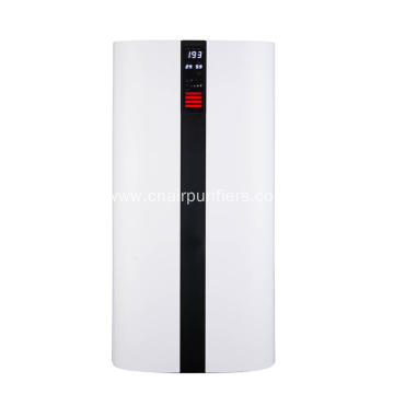 Wifi Air Purifier With Humidify Temperature Display
