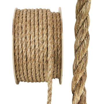 Factory direct sale sisal rope, 8mm marine rope