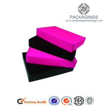 Pure color Panton printing apparel packaging box