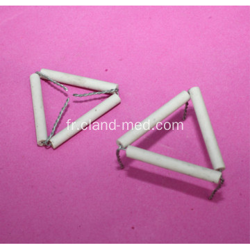 Triangle Pipe Clay