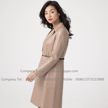 Sheepskin Leather Coat Designers For Women
