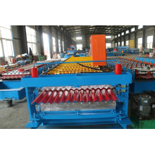 color steel corrugated roll former