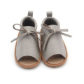 Wholesale Summer Baby Boy Sandals Leather Children Footwears