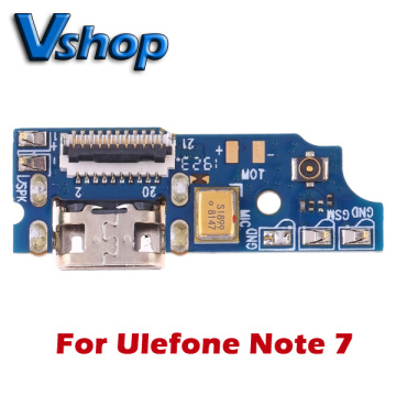 Ulefone Note 7 Charging Port Board for Ulefone Note 7 Mobile Phone Flex Cables Replacement parts USB board Charger