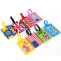 Creative Silicone Suitcase Tags