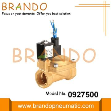 0927500 1 1/4'' Air Compressor Brass Solenoid Valve