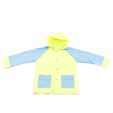 Fashion design pvc Child raincoat wholesale