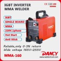 New designed for 4.0mm electrode IGBT inverter DC mma stick welder with CE 180A