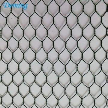 100*120mm Flood Walls Durable Hexagonal Galvanized Gabion
