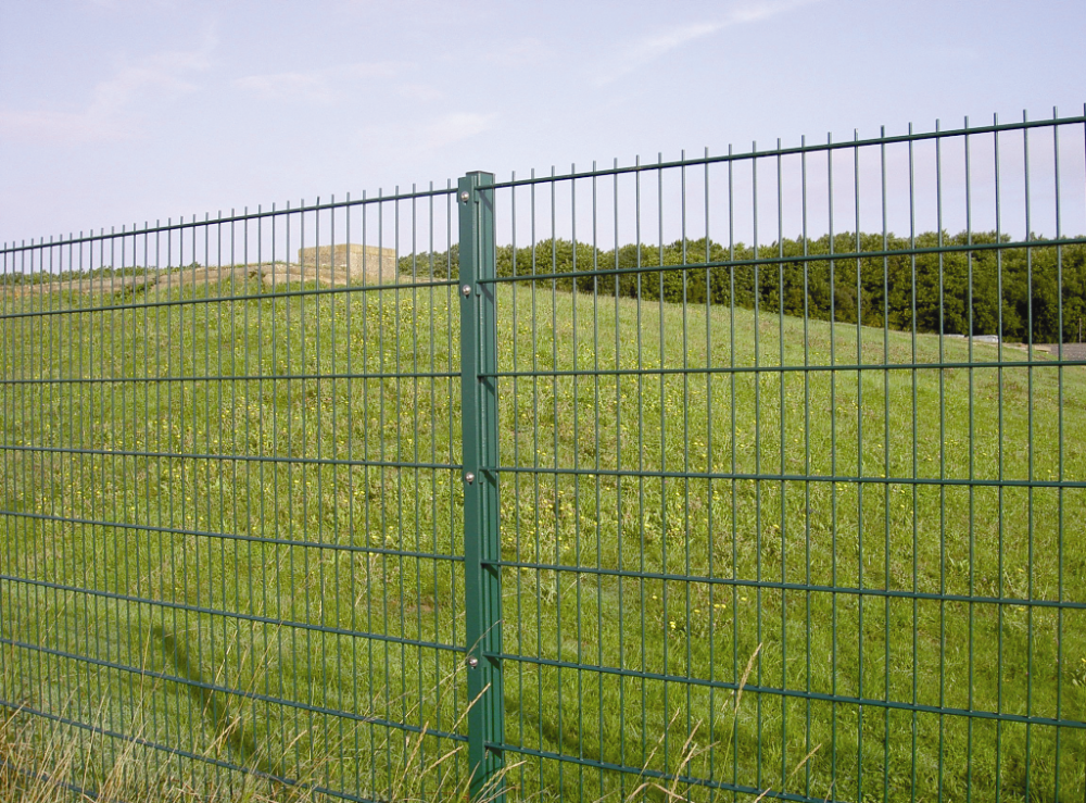 Used welded mesh double wire fence for Garden