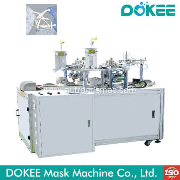 FFP2 Disposable Folding Mask Ear-loop Welding Machine