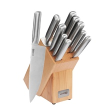 Hollow Handle Knife Set with Wood Block