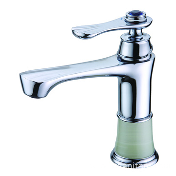 Single-lever bathroom restroom wash basin faucet